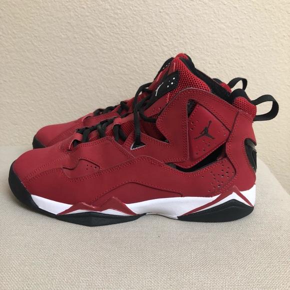Red Black White Jordan Retro 7s | Poshmark